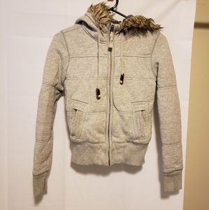 American Eagle Outfitters Jacket with Hood